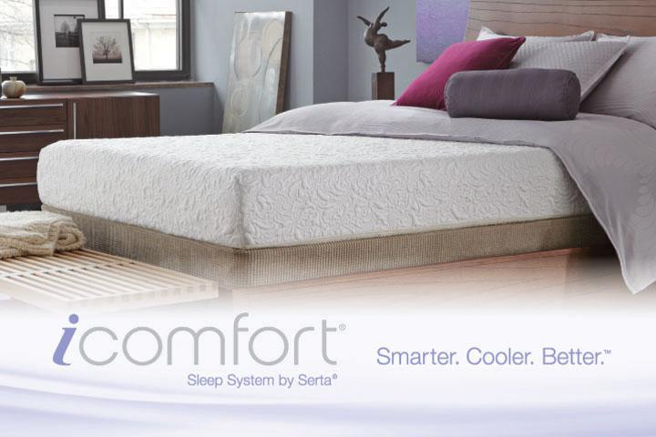 Serta iComfort gel memory foam mattresses