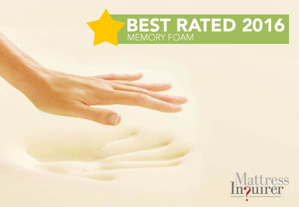 best rated memory foam 2016